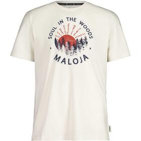 Maloja HeckenkirscheM. SS T-Shirt Men, vintage white